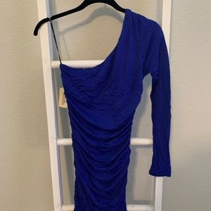 Forever 21 one sleeve dress